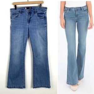 Kut from the Kloth Stella Relaxed Flare Jeans 10